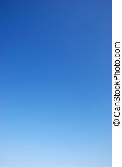 perfect blue sky - unique image of the perfect, 100% natural...