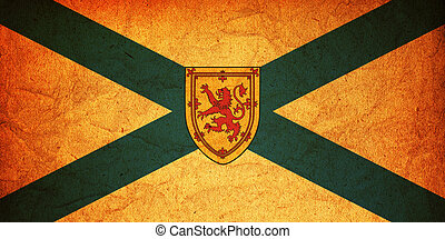 nova scotia flag - some very old vintage flag of nova scotia...