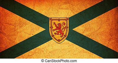nova scotia flag - some very old vintage flag of nova scotia...