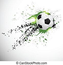 Soccer design - Grunge deign. Brazil soccer world cup.