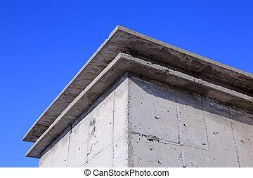 Cast-in-situ concrete building structure - Cast-in-situ...