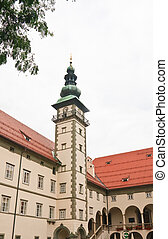 Landhaus building and Church of the Holy Spirit, Klagenfurt...