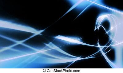 Flowing Blue Wisps Loop