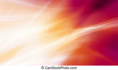 Flowing multicolor rays looping