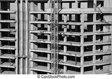 Cast-in-situ concrete high-rise building - Cast-in-situ...