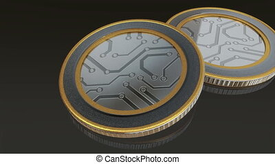 digital coins pan - The digital currency coin of...