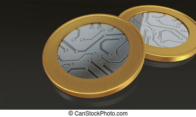 digital gold silver max coins pan - The digital currency...
