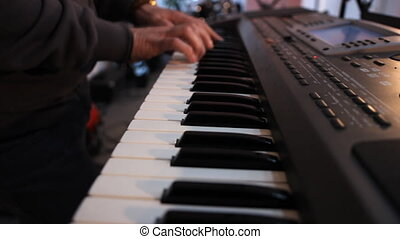 playing keyboards a