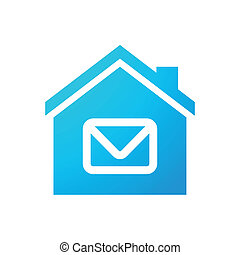 House icon - Illustration of an isolated house icon
