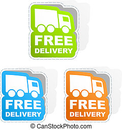 FREE DELIVERY. Business illusrtation. Usable for different...