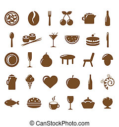 Collection Restaurant Icons