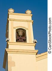 Belfry - Detail take of a traditional Mediterranean belfry