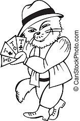 Cat card-sharper