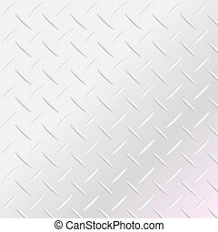 Texture of a metal diamond plate - Background of metal...