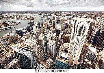 ダウンタウンに, オーストラリア, シドニー