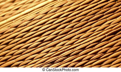 Bamboo texture with bright light