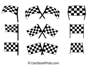 Racing flags