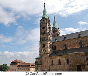 Imperial cathedral in Bamberg (Germany, Bavaria)