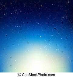 Stars In Night Sky