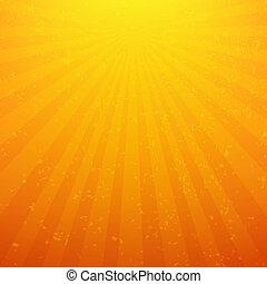 Sunburst Background With Rays