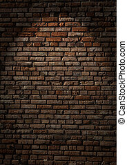 Brick wall - Texture of old brick wall