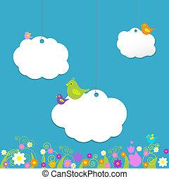 Ptaszki, Na, chmury,