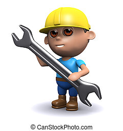 3d Builder and spanner