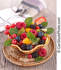 owoc, Sałata