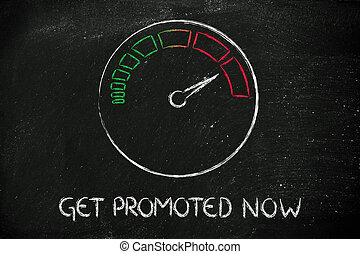 speedometer and fast success: get promoted now