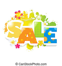 Summer Sale Design - Summer Sale Poster Design Template,...