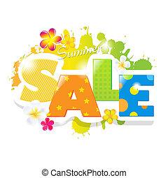 Summer Sale Design - Summer Sale Poster Design Template,...