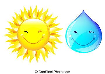 Sun And Drop
