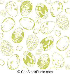 Vintage Easter Background - Illustration of Vintage Grunge...