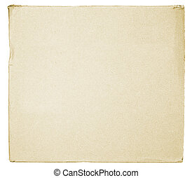 cardboard texture isolated on white