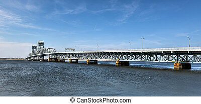 Marine Parkway-Gil Hodges Memorial Bridge as seen from...