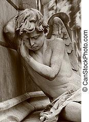 Sleeping Angel - Sleeping angel on Recoleta cemetery in...