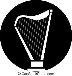 harpa, ícone