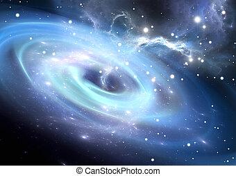 Heavy black hole.