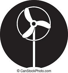 Fan Ventilator Vector icon