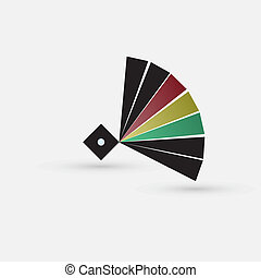 colored circle icon