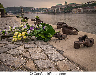 The Shoes on the Danube Promenade is a war memorial and was...