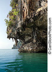 The Cave of James Bond Island, Phang Nga, Thailand - The...