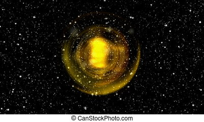 starfield in universe and super nova