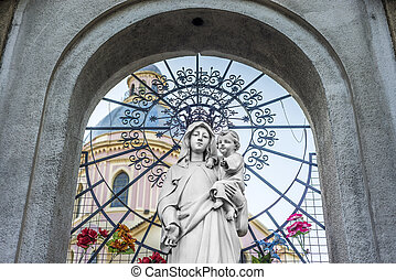 Cathedral Basilica in Salta, Argentina - Cathedral Basilica...