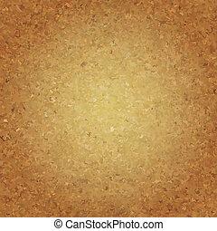 Cork Wallpaper, Vector Illustration