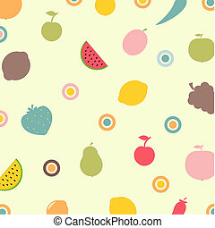 legumes, abstratos, fundo, frutas