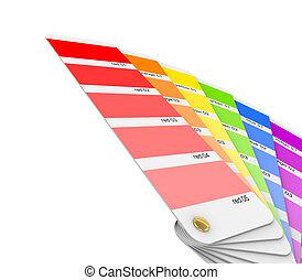Colour sampler.