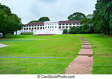 Fort Canning Centre - View of famous Fort Canning Centre in...