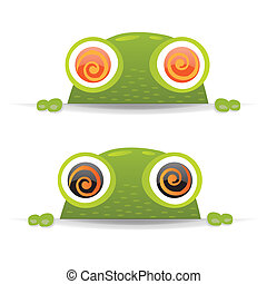 Hypno Frog Set - 2 Hypno Frogs