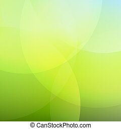 Green And Blue Background With Line